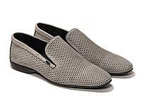 Туфли мужские серые