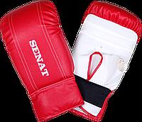 Перчатки снарядные Senat, красно-белые, 1468-red/wht