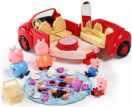 Машинка Свинки Пеппы для пикника DN 8853