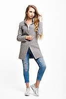 Пальто женское светло-серое  Вильнюс