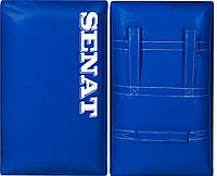 Макивара двойная Senat, ПВХ, 58х38х17см., синяя, 1314-bl