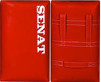 Макивара двойная Senat, ПВХ, 58х38х17см., красная, 1314-red