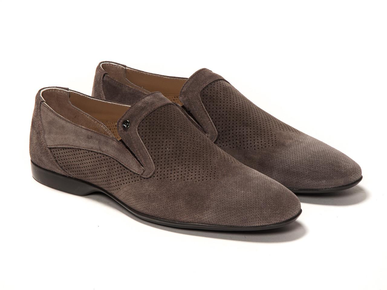Туфли Etor 11739-7115-3-0205 темно-серые