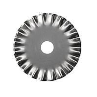 Лезвие круглое 28мм (для дискового ножа) волнистый рез
