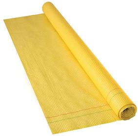 Гидроизоляция желтая, с микроперфорацией, армированная сеткой 1500мм, рулон 75 м2, Украина (10-986) шт.