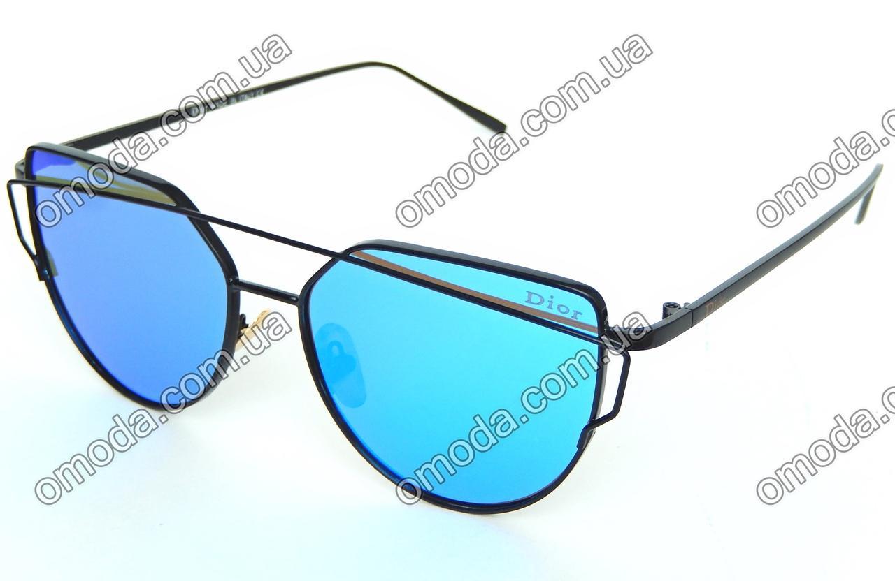 c8736884de74 Женские солнцезащитные очки в стиле Dior, голубые: продажа, цена в ...