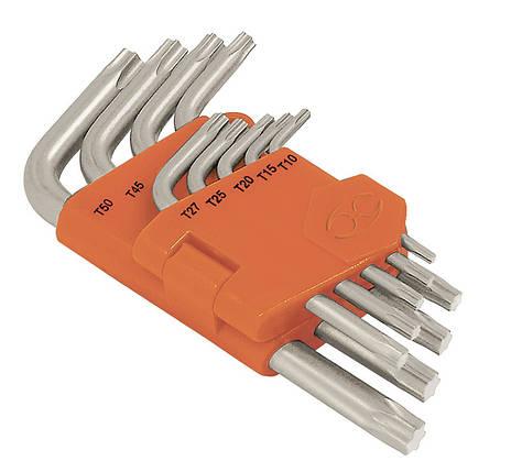 Набор ключей Torx в пластиковой кассете, 9шт Truper, фото 2