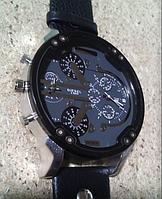 Часы мужские кварцевые Diesel Brave (Дизель Брейв) черные, копия