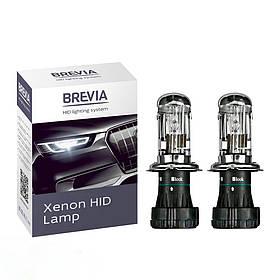 Биксеноновые лампы H4 4300K Brevia