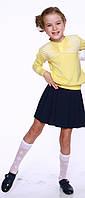 Джемпер для девочки, желтый