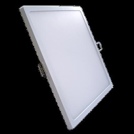 Светодиодная панель SLIM RIGHT HAUSEN HN-235040 24W 4000K квадрат белый Код.57879, фото 2