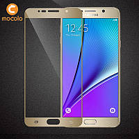 Защитное стекло Mocolo 2.5D 9H на весь экран для Samsung Galaxy Note 5 N920 золотой