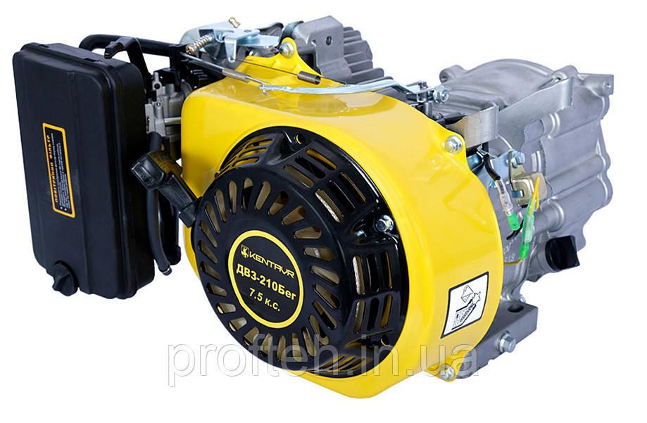 Бензиновый двигатель Кентавр ДВЗ-210БЕГ (7,5 л.с., ручной стартер, конус, резьба М8-6Н)