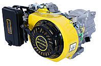 Бензиновый двигатель Кентавр ДВЗ-210БЕГ (7,5 л.с., ручной стартер, конус, резьба М8-6Н) + доставка