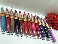 Блеск для губ+помада карандаш 2 в 1 MAC Long Lasting Lip Gloss