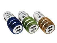 Зарядное /Адаптор двойной 3.1+2.1 Амп 12V USB