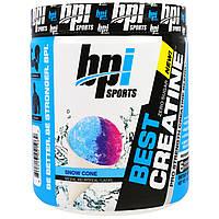 BPI Sports, Лучший креатин, креатиновая формула для увеличения силы, Снежный конус, 10,58 унции (300 г)