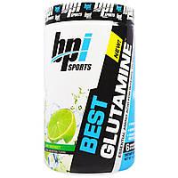 BPI Sports, Лучший глютамин. Незаменимая аминокислота, шербет из лайма, 14,1 унции (400 г)