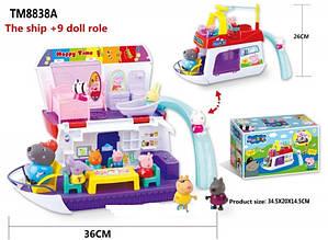 Игровой набор Свинка Пеппа Мини корабль TM8837A