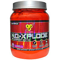 BSN, N.O.-Xplode, предварительное зажигание, виноград, 2,45 фунтов (1,11 кг)