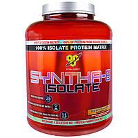 BSN, Syntha-6 Isolate, сухая протеиновая смесь, вкус шоколадного арахисового масла, 4.02 фунта (1.82кг)