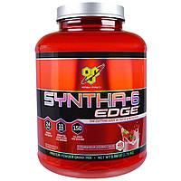 BSN, Syntha-6 Edge, сухая протеиновая смесь, вкус клубничного молочного коктейля, 3.86 фунта (1.75кг)
