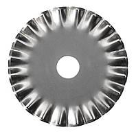 Лезвие круглое 45мм (для дискового ножа) волнистый рез