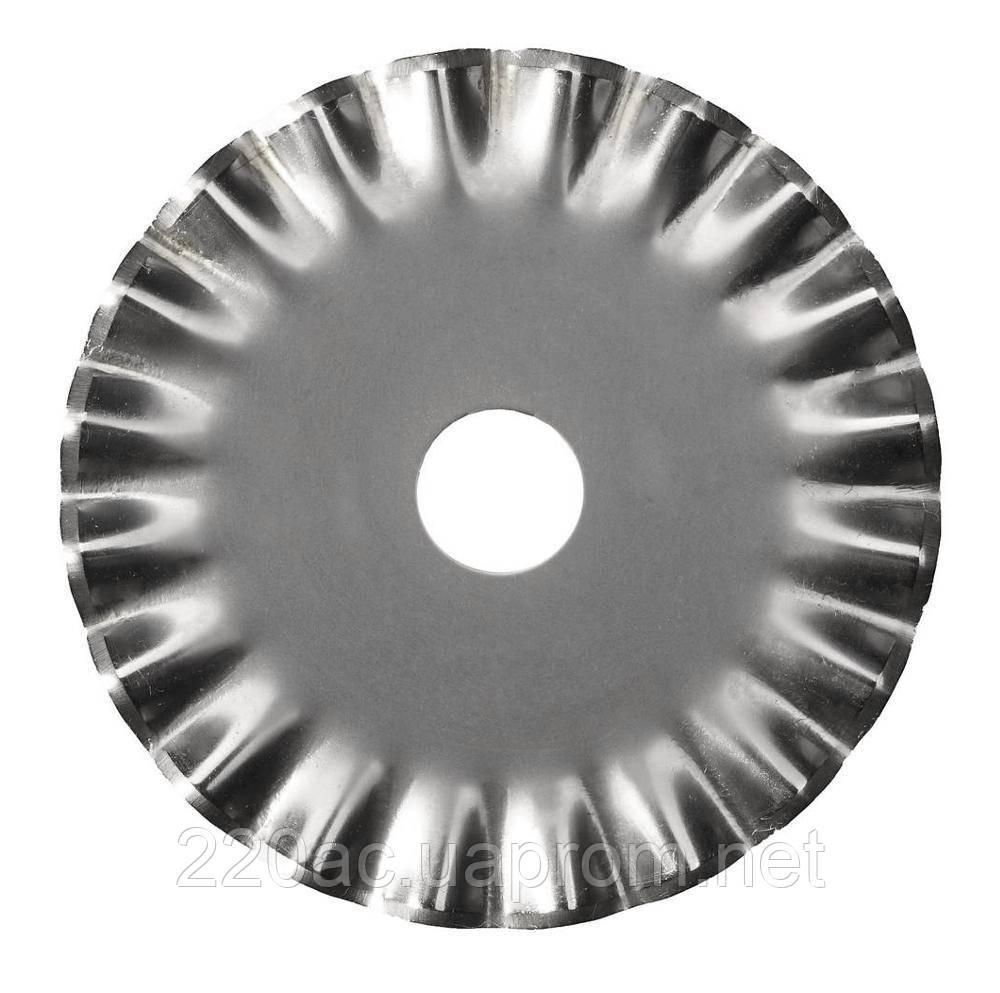 Лезвие круглое 45мм (для дискового ножа) волнистый рез - Магазин «220» в Кривом Роге