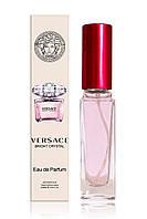 Женский мини-парфюм Versace Bright Crystal (Версаче Брайт Кристалл) в стеклянном флаконе 20 мл