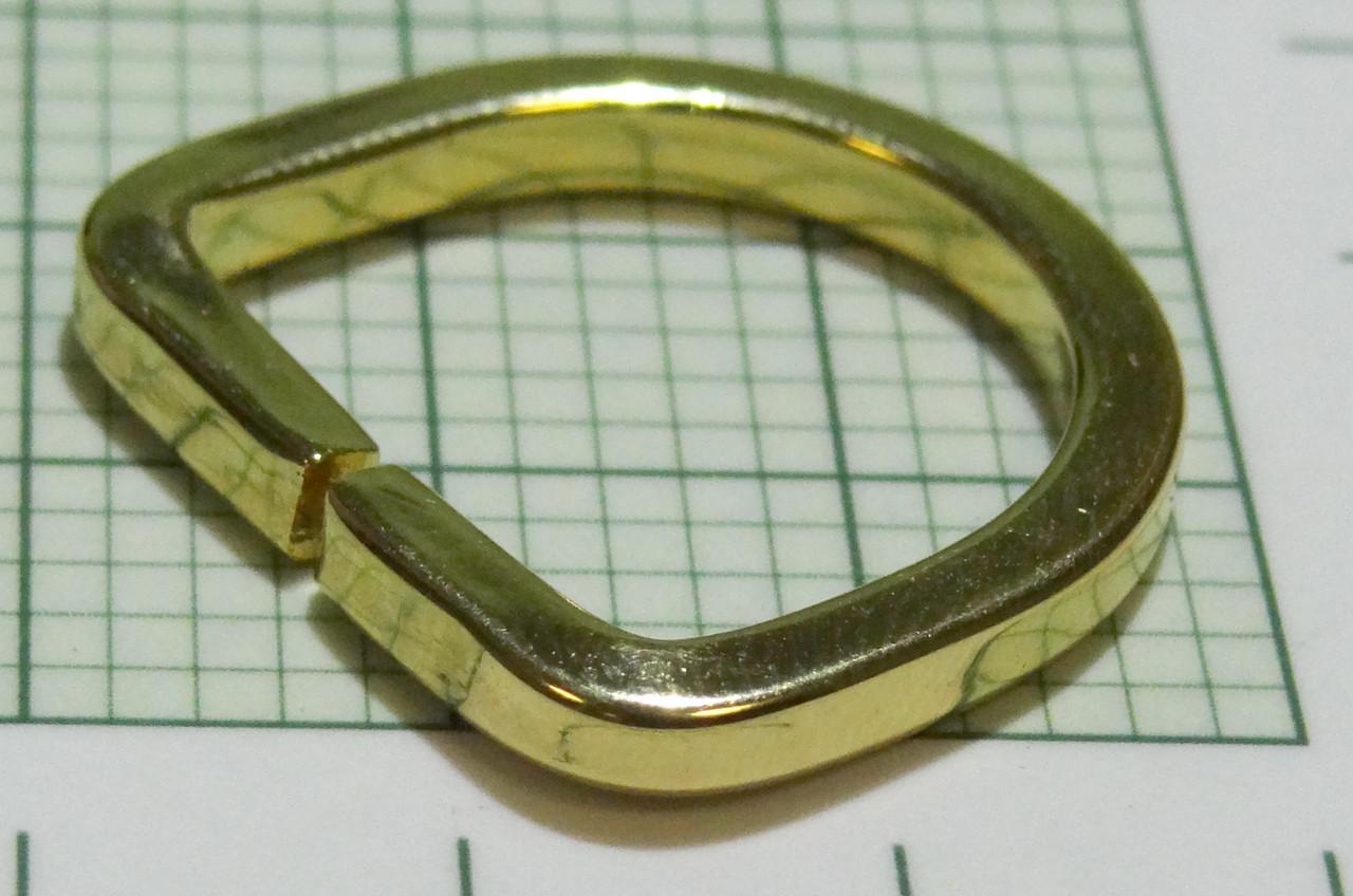 ce6a88831c32 Полукольцо для сумок (Италия) металл, разъемное (отполированное, золото)