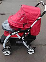 Детская коляска HDX 688A красная