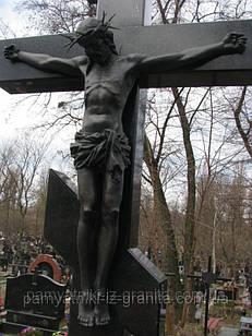 """Уникальная скульптура из гранита """"Распятие на кресте"""""""