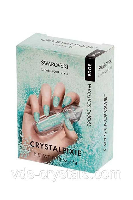 Маникюрные стразы Swarovski Crystal Pixie Edge Tropic seafoam