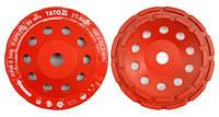 Yato Отрезной алмазный диск для шлифования бетона / камня 180мм