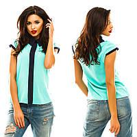 Двухцветная блуза в 12 расцветках.