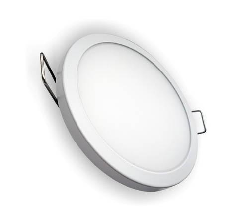 Светодиодная панель SLIM RIGHT HAUSEN HN-234010 6W 4000K круглый белый Код.57885, фото 2