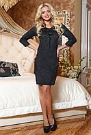 Сукня замшеве з вишивкою, фото 1
