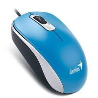 Проводная мышь genius dx-110 голубая (31010116103)