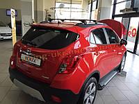 Боковые площадки из алюминия Allmond для Opel Mokka 2012