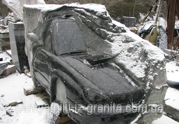 "Унікальна скульптура з граніту ""Автомобіль"""