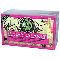 Triple Leaf Tea, Баланс сахара, чай без кофеина, 20 чайных пакетиков, 1,4 унции (40 г)