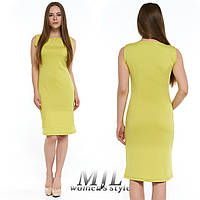 Летнее платье-футляр 236