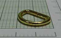 Полукольцо (Италия) металл, разъемное (отполированное, золото)