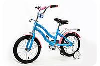 Велосипед детский PROFI 14д. L1494 голубой, фото 1