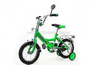 Велосипед PROFI детский 12д. P 1242 зеленый, фото 1