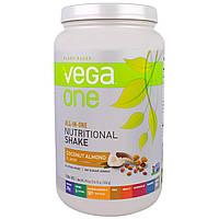 Vega, Полноценный диетический коктейль со вкусом кокоса и миндаля, 29,4 унции (834 г)