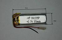 Аккумулятор универсальный 041235p (4*12*35mm) 350mAh