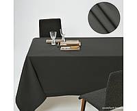 Скатерть Dralon с тефлоновым водоотталкивающим покрытием, цвет Тёмно-Серый