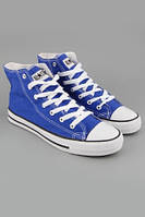 Мужские кеды Converse All Star M (синие) (Реплика ААА+)