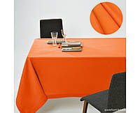 Скатерть Dralon с тефлоновым водоотталкивающим покрытием, цвет Оранж